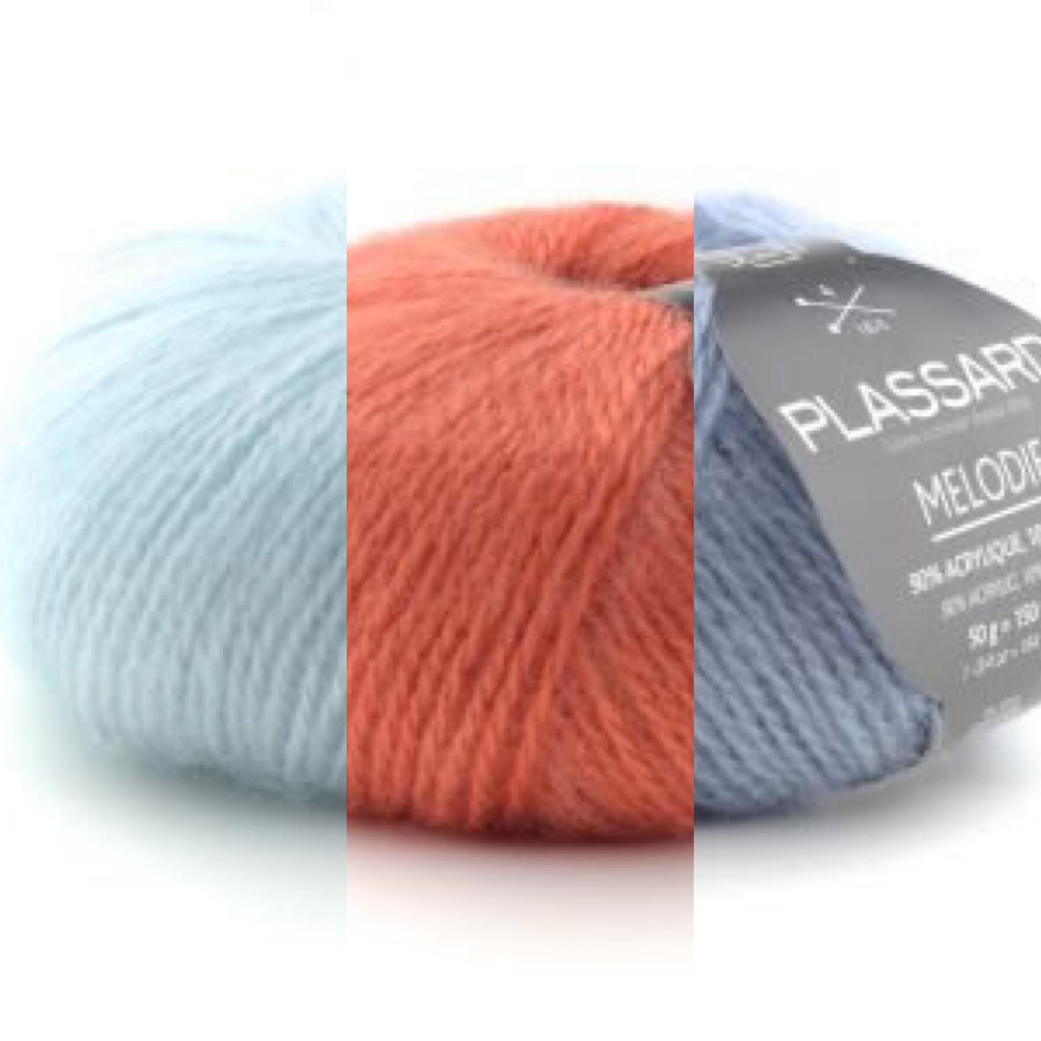 De nouveautés tissus et laines sont arrivés ...
